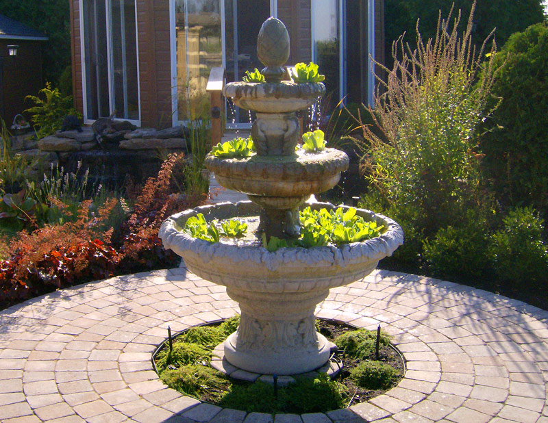 Landscaping stones montreal : Montreal landscaping contractor ponds and waterfalls