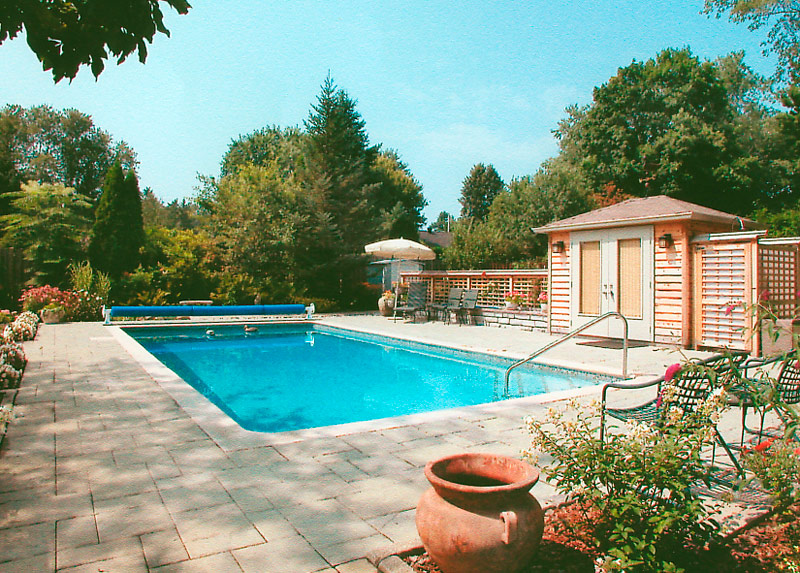 Montreal Swimming Pool Landscaping Swimming Pools Landscape Design
