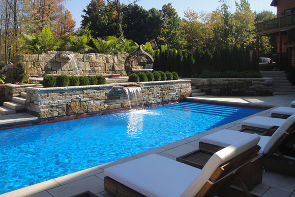 Montreal swimming pool landscaping swimming pools for Pool design services