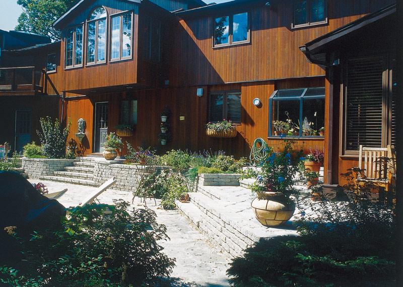 Am nagement paysager de terrasses et patios par paysagiste for Architecte paysagiste prix